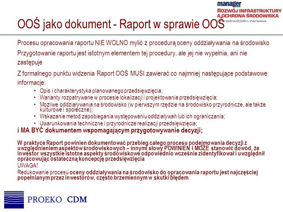 Polskie ramy prawne Uwaga.