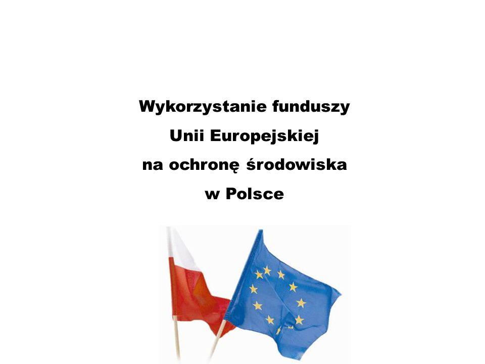 Wykorzystanie funduszy Unii Europejskiej na ochronę środowiska w Polsce
