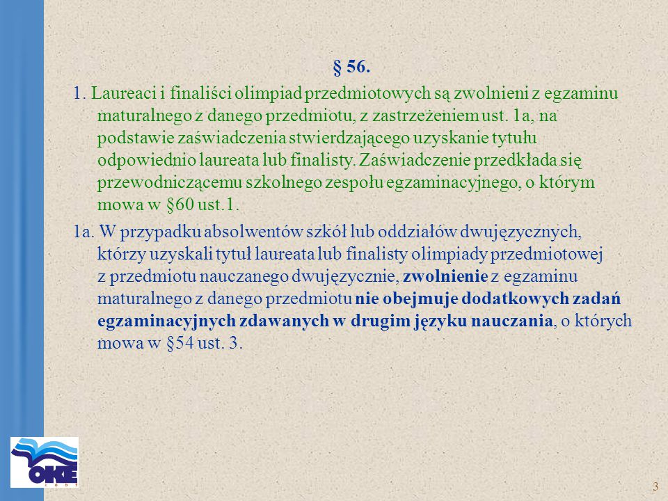 3 § 56. 1.