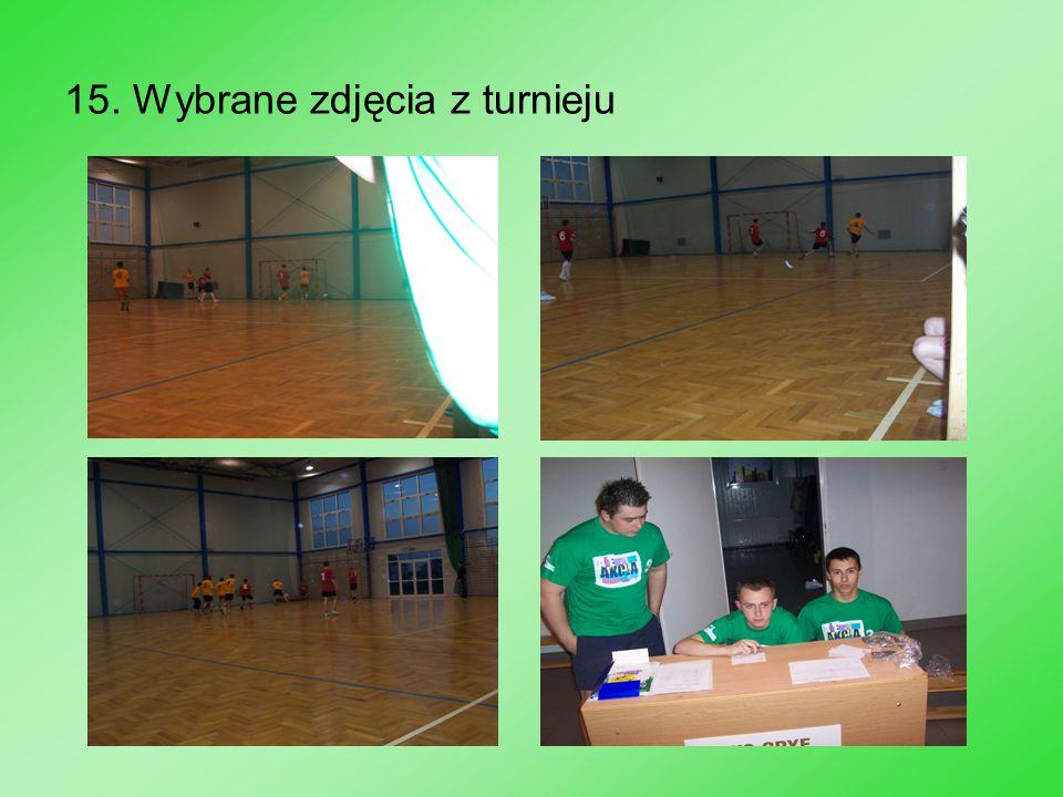 15. Wybrane zdjęcia z turnieju