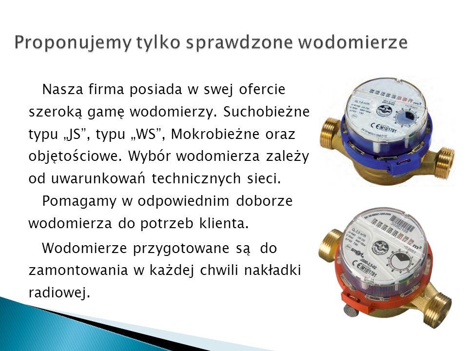  Oferowany przez naszą firmę system radiowego odczytu wodomierzy firmy Apator Powogaz jest polską myślą techniczną, która już doskonale sprawdziła się w eksploatacji (np.