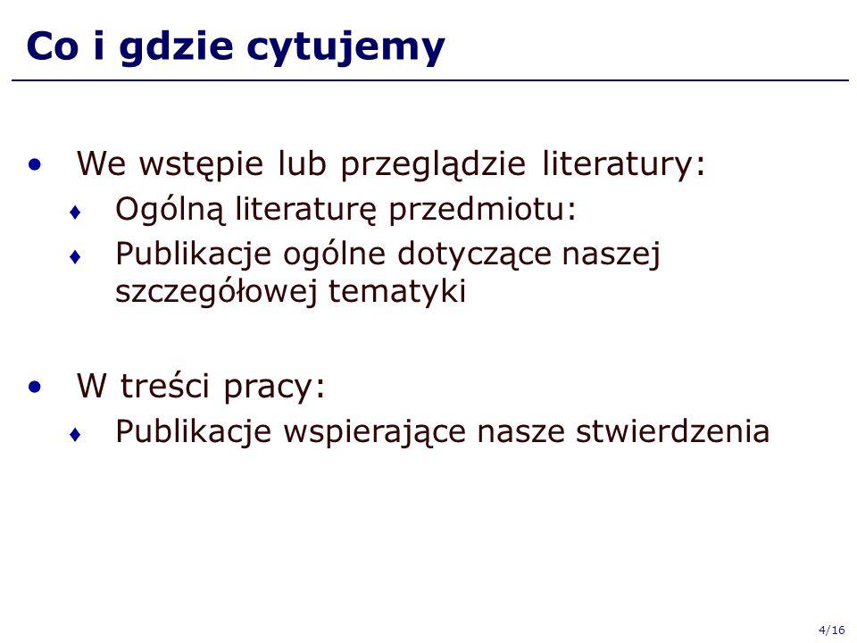 """Publikacja """"nieopublikowana [7] E.Rydz. Stereowizja."""