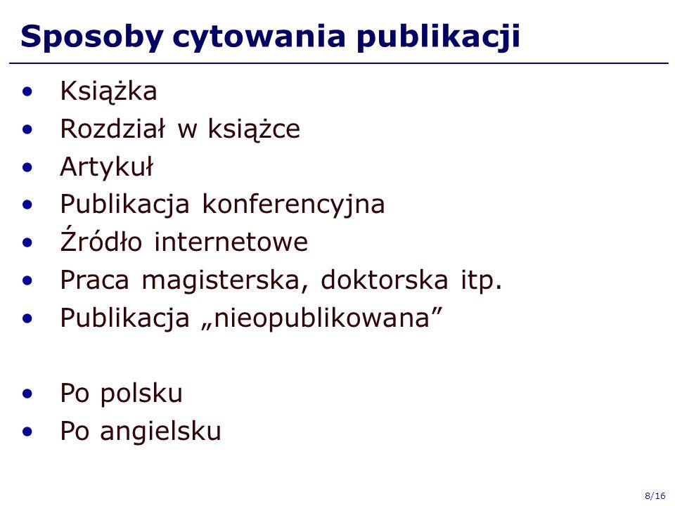 Książka 1.R.Tadeusiewicz, M.