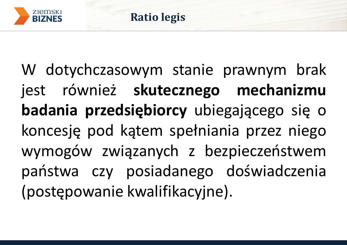 Powyższe braki mogą w praktyce uniemożliwić ochronę złóż przed przejęciem przez podmioty nierespektujące standardów w zakresie poszukiwania i wydobywania, co jest szczególnie istotne w przypadku węglowodorów i może stanowić potencjalne zagrożenie bezpieczeństwa publicznego w Polsce.