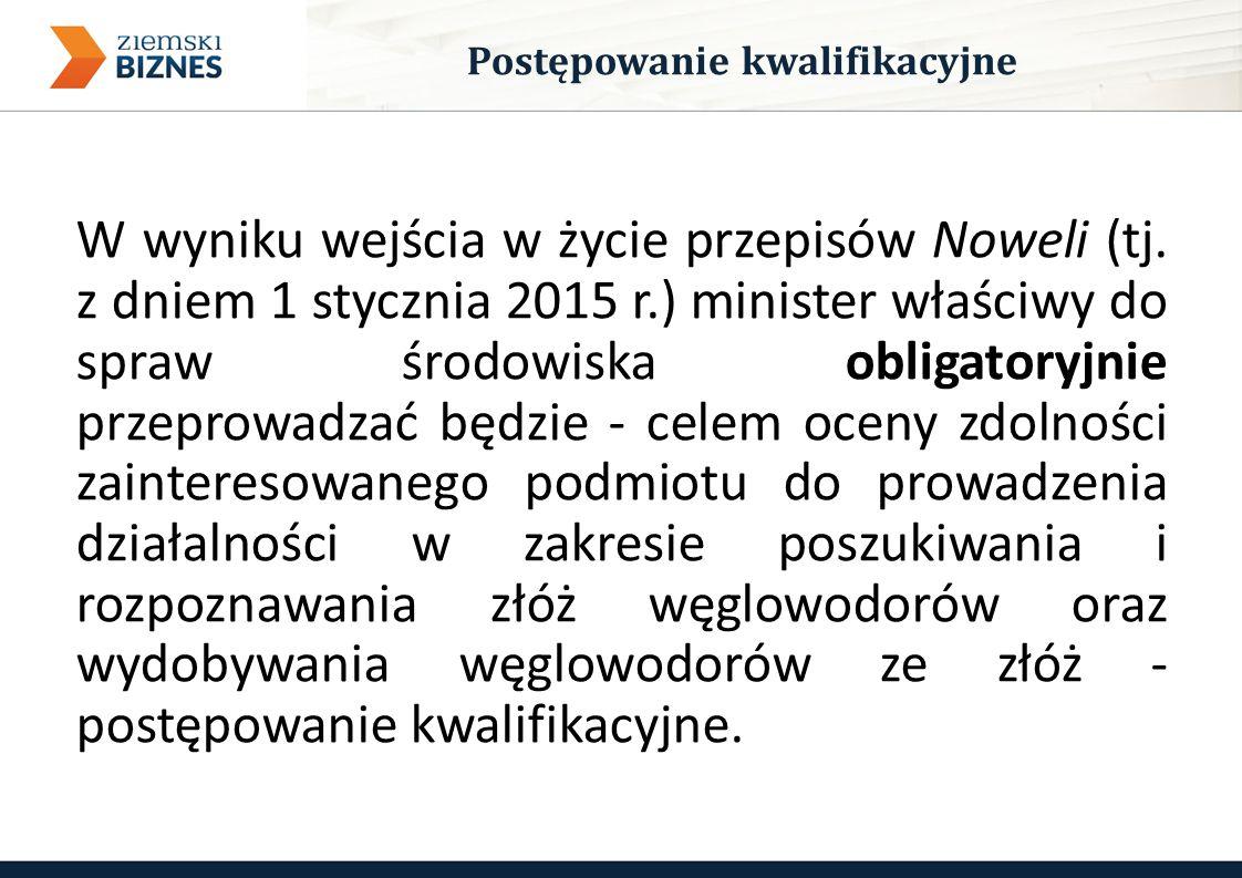 W wyniku wejścia w życie przepisów Noweli (tj.