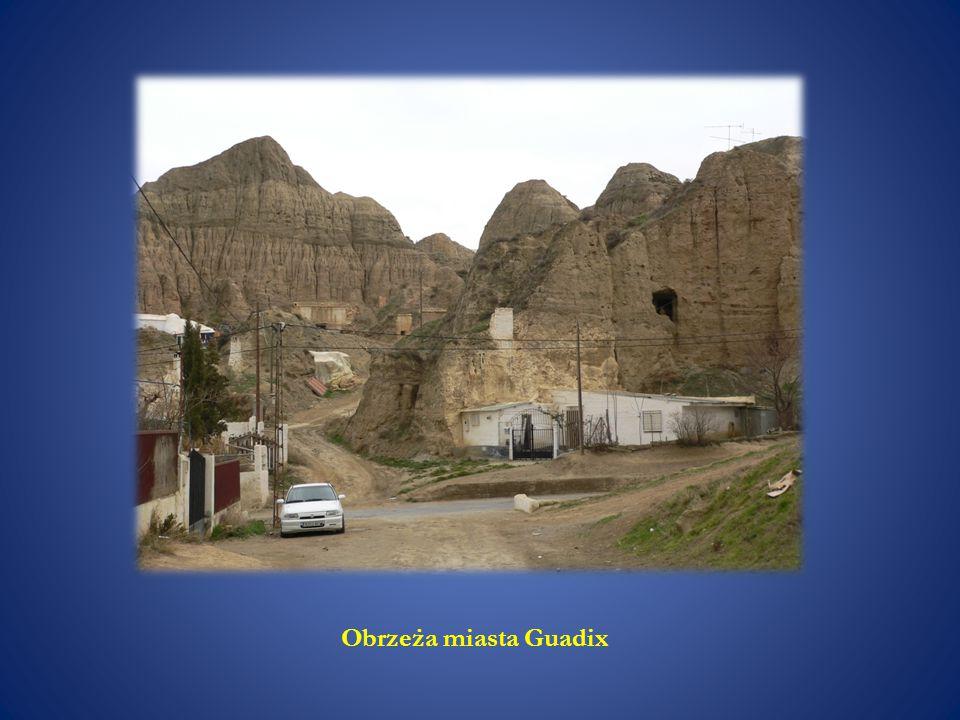 Obrzeża miasta Guadix