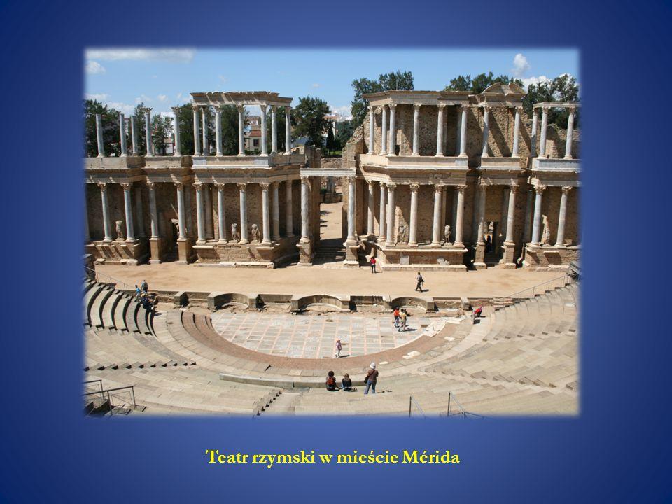 Teatr rzymski w mieście Mérida