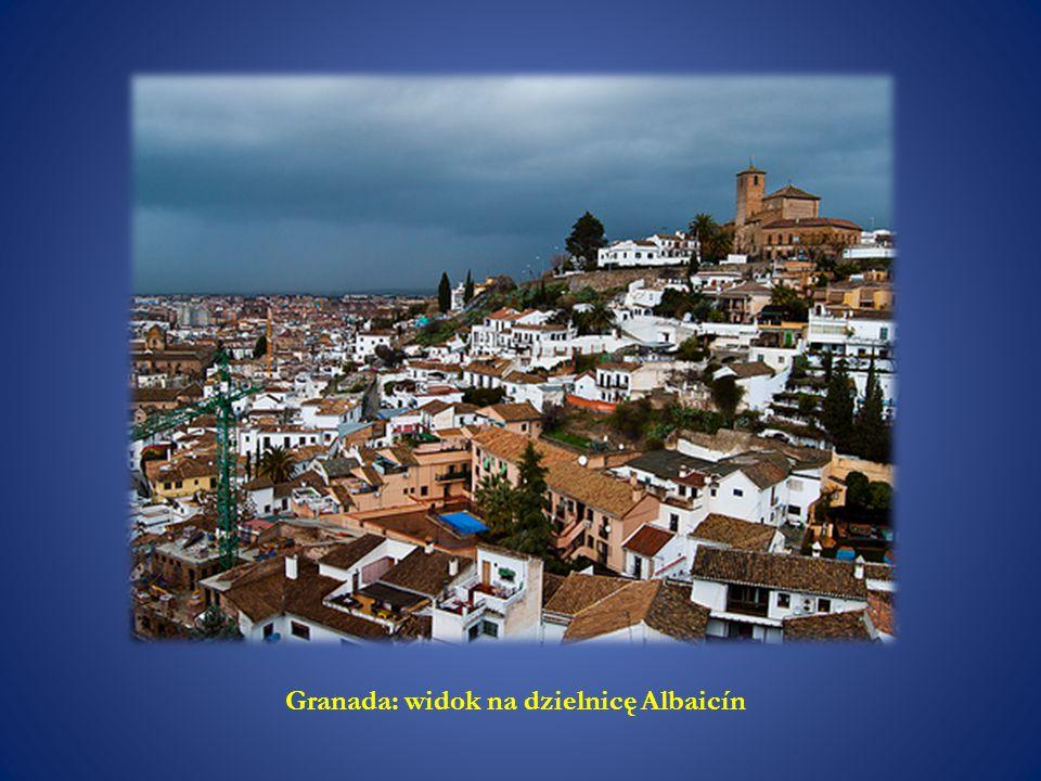 Granada: widok na dzielnicę Albaicín