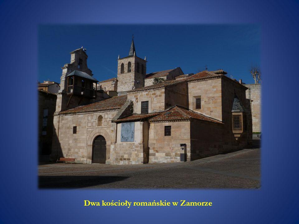 Dwa kościoły romańskie w Zamorze