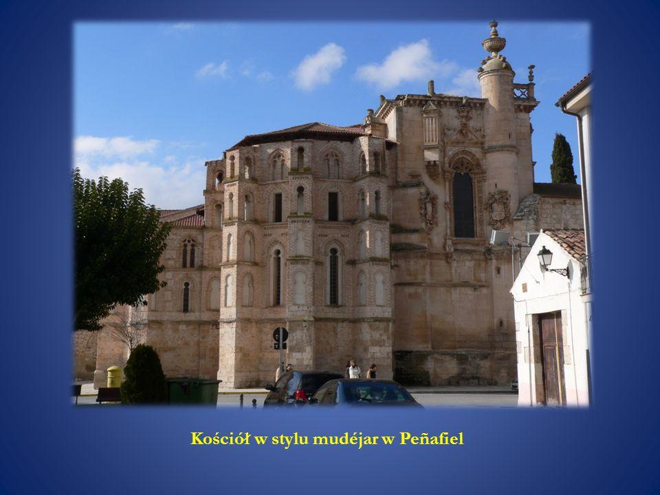 Kościół w stylu mudéjar w Peñafiel