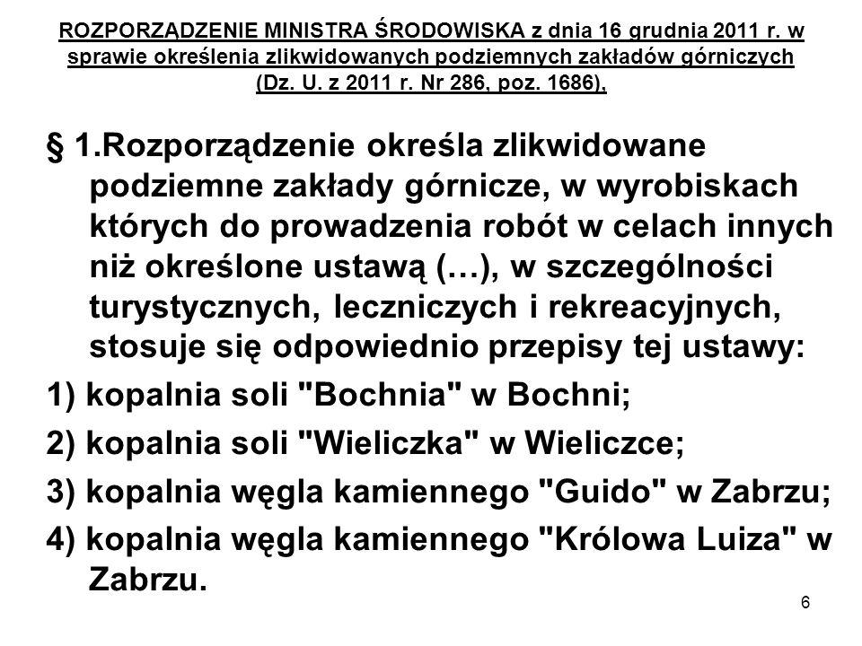 47 ROZPORZĄDZENIE MINISTRA GOSPODARKI z dnia 28 czerwca 2002 r.