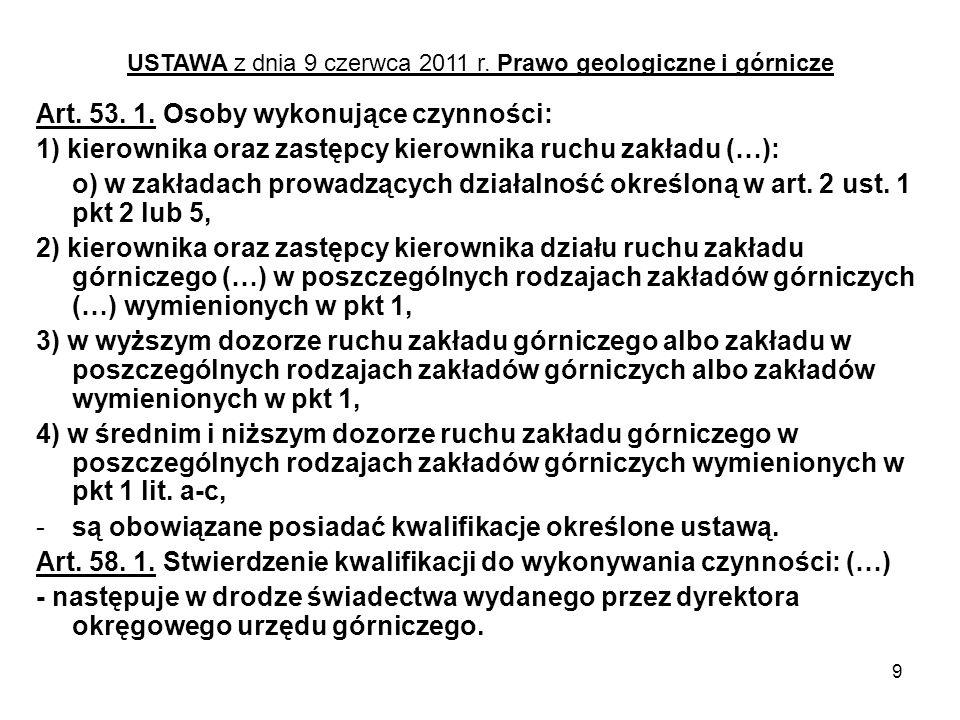 30 ROZPORZĄDZENIE MINISTRA GOSPODARKI z dnia 12 czerwca 2002 r.