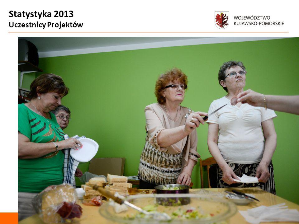 Statystyka 2013 Uczestnicy Projektów Departament Spraw Społecznych Zdjęcie uczestniczki *3