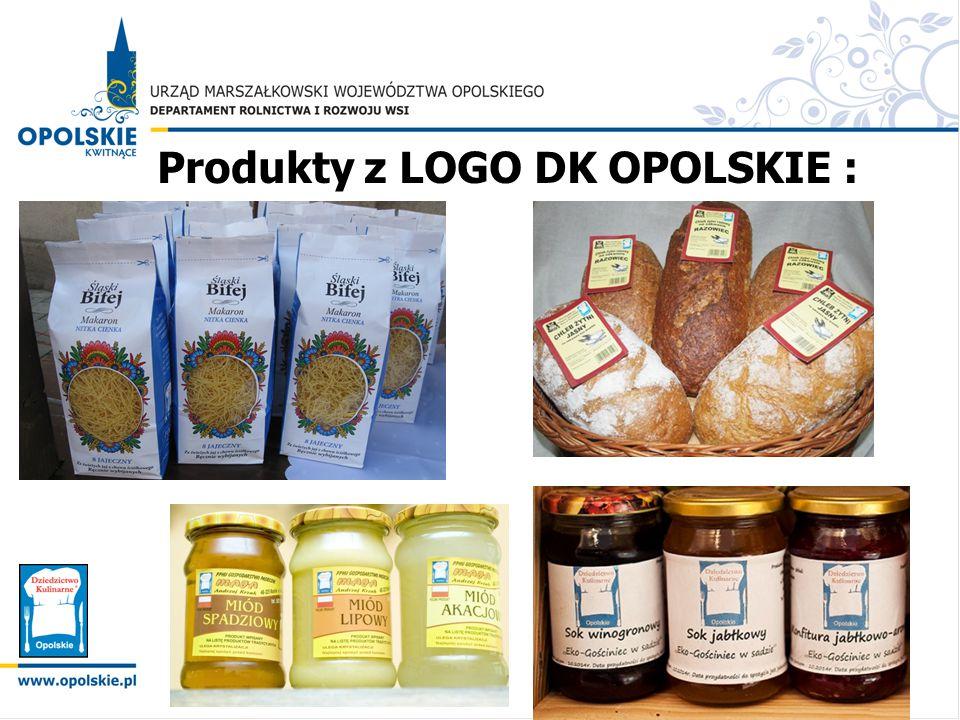 Produkty z LOGO DK OPOLSKIE :
