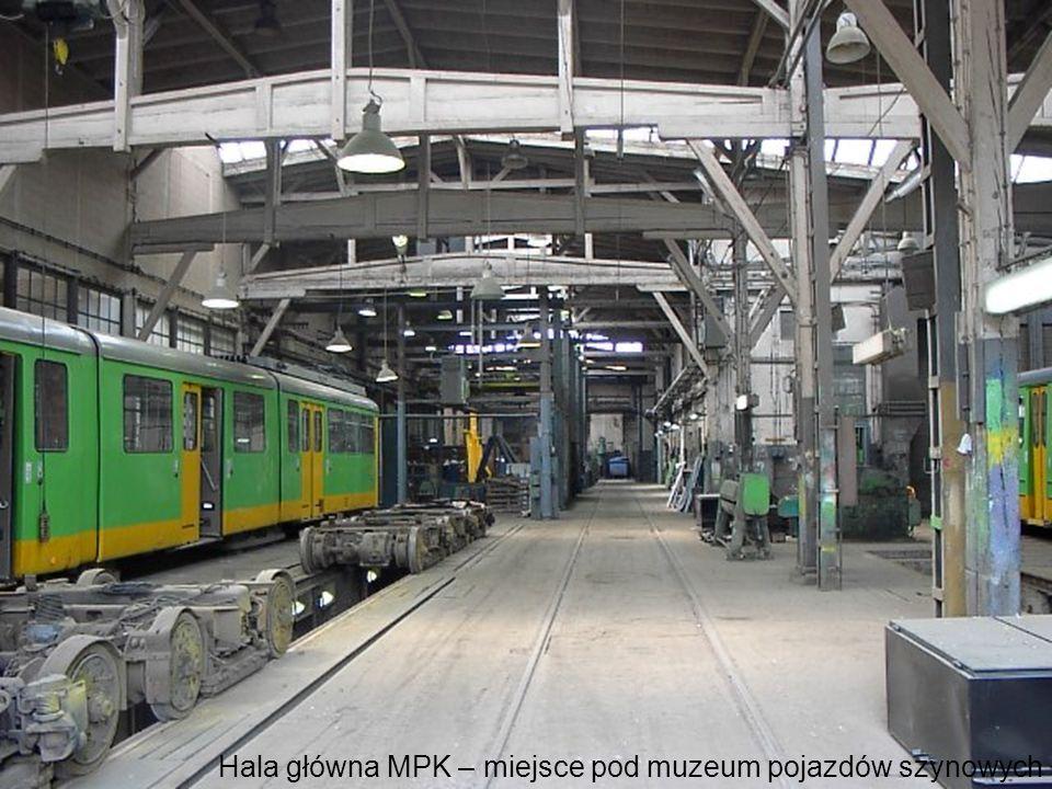 Hala główna MPK – miejsce pod muzeum pojazdów szynowych