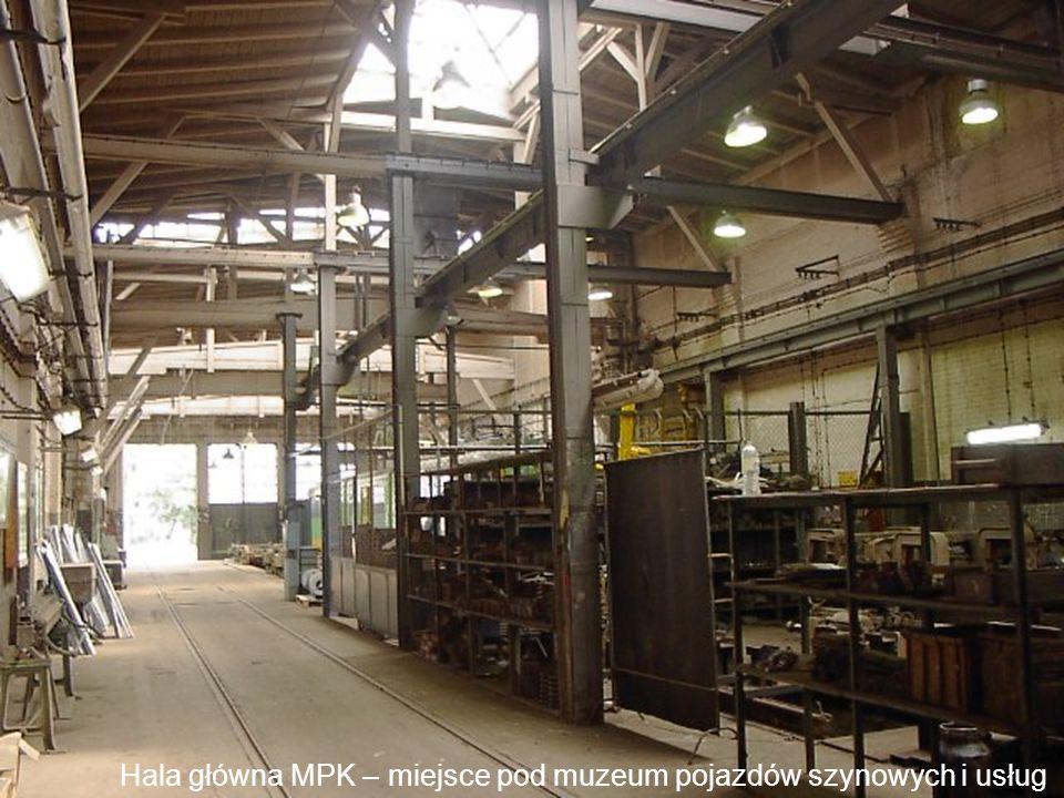 Hala główna MPK – miejsce pod muzeum pojazdów szynowych i usług