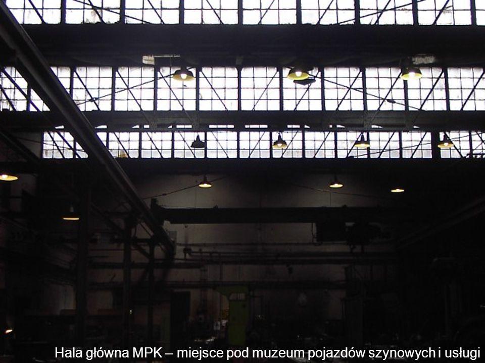 Hala główna MPK – miejsce pod muzeum pojazdów szynowych i usługi