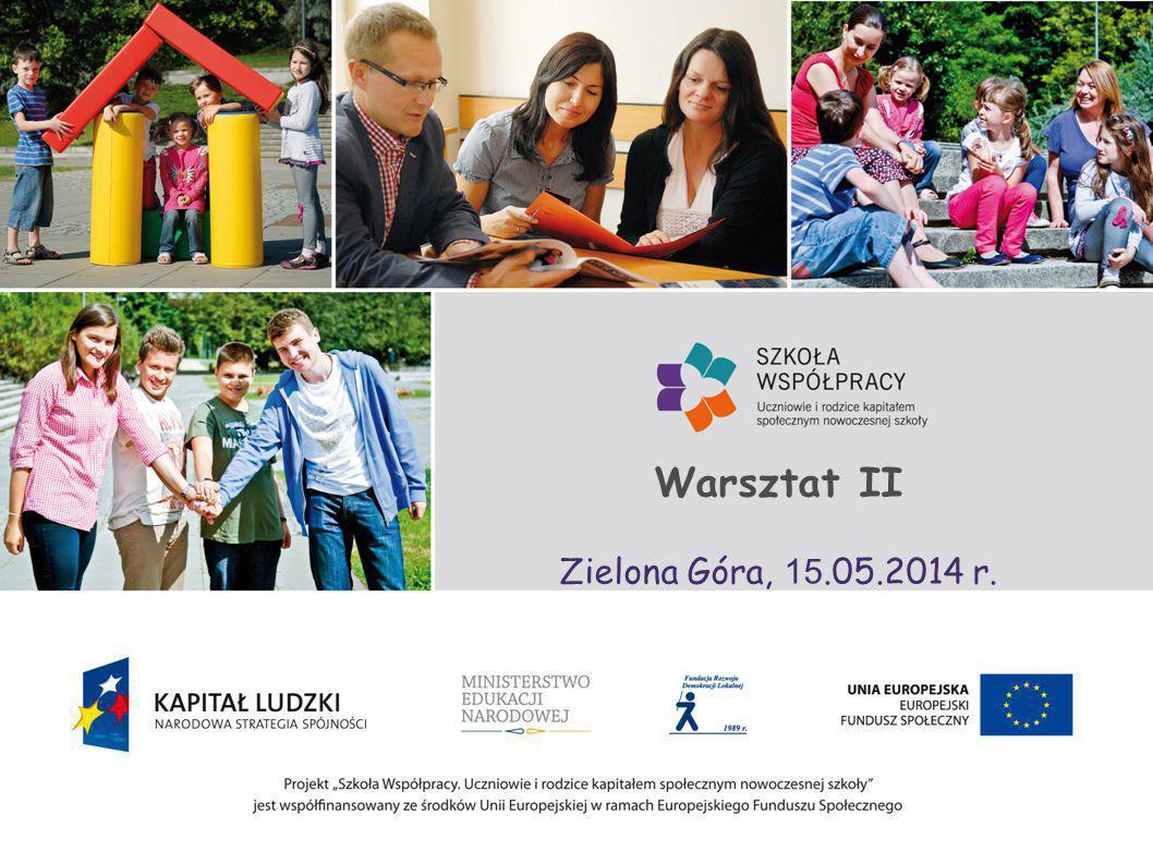 Warsztat II Zielona Góra, 15.05.2014 r.