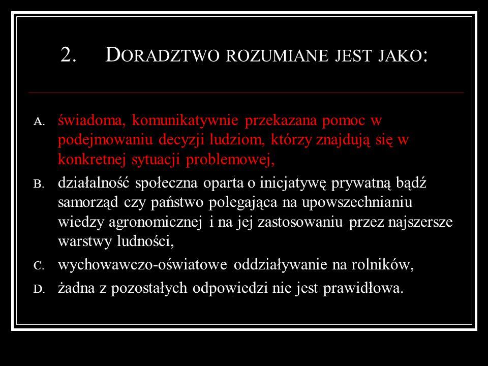 23.W RAŻENIE TO : A.uprzednie spostrzeżenia B. odebranie bodźca za pośrednictwem jednego zmysłu C.
