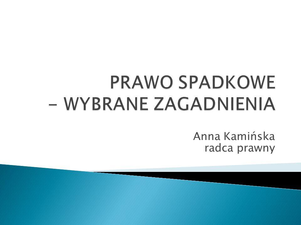 Anna Kamińska radca prawny