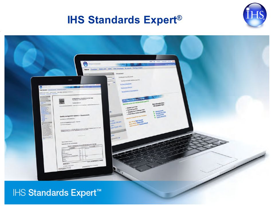 Copyright © 2007 IHS Inc. All Rights Reserved. IHS Standards Expert ®