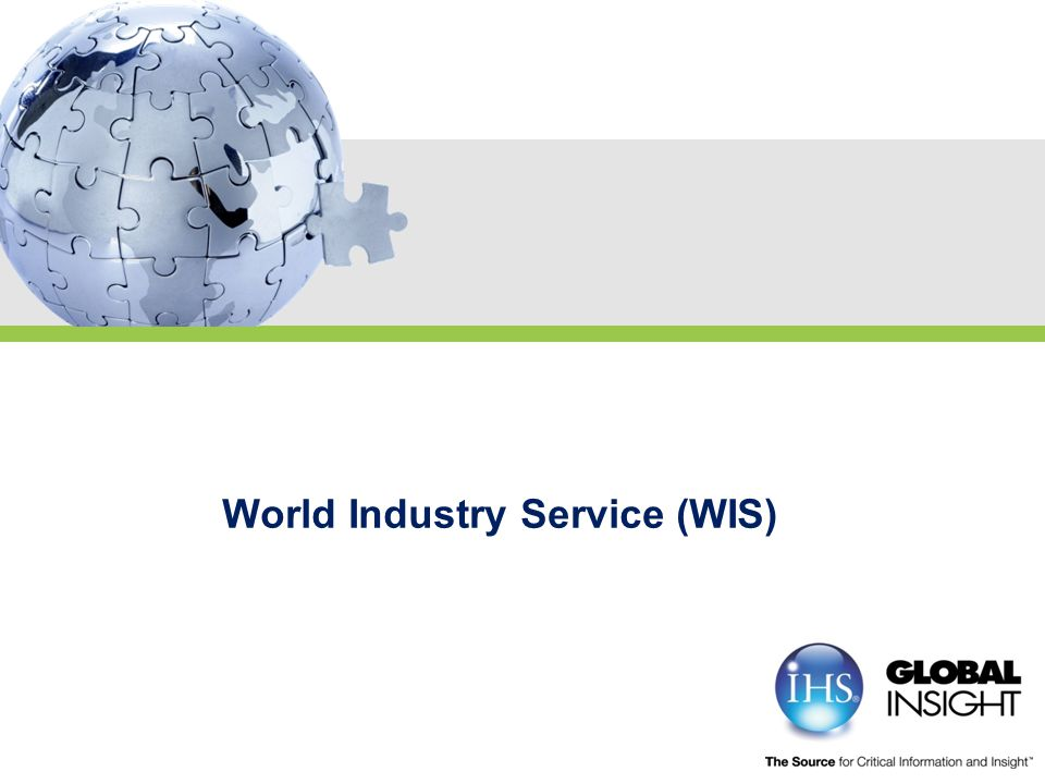 World Industry Service (WIS)