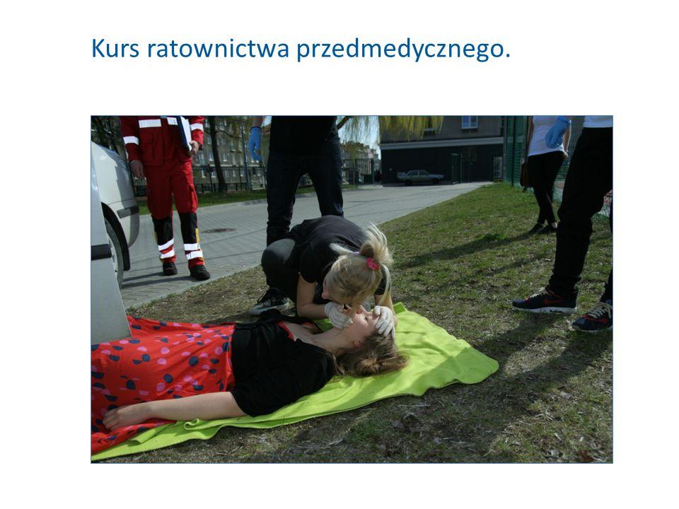 Kurs ratownictwa przedmedycznego.