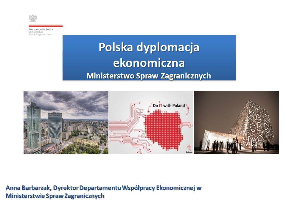 Polski eksport Polska znajduje się w pierwszej trzydziestce największych eksporterów na świecie Wartość polskiego eksportu ogółem wzrosła w 2013r.