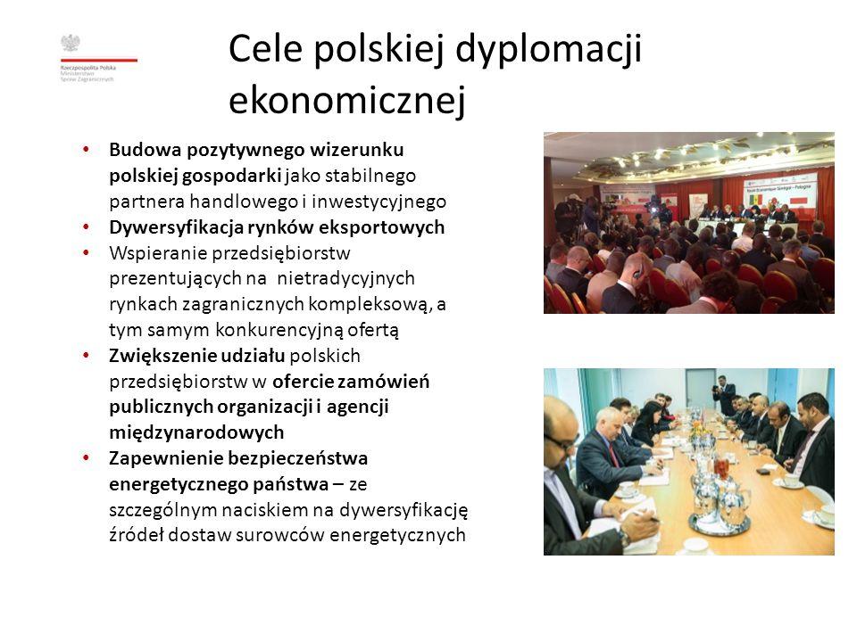 Dyplomacja ekonomiczna w 2013 r.
