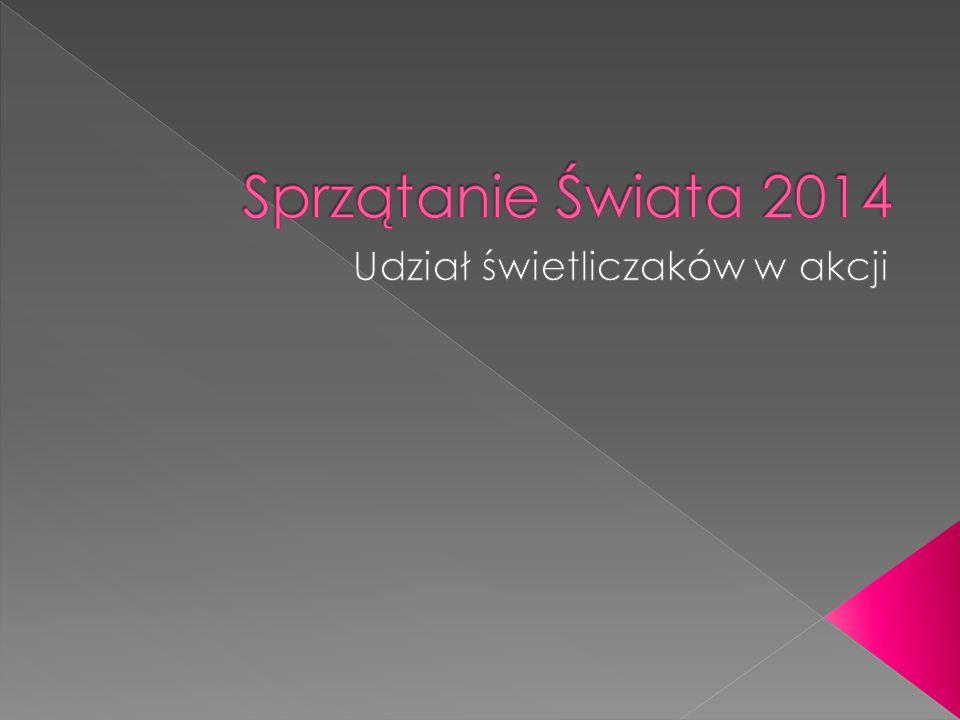 Zapraszamy do wysłuchania audycji dotyczącej Akcji Sprzątanie Świata Polska 2014, której finał odbywa się w ten weekend.