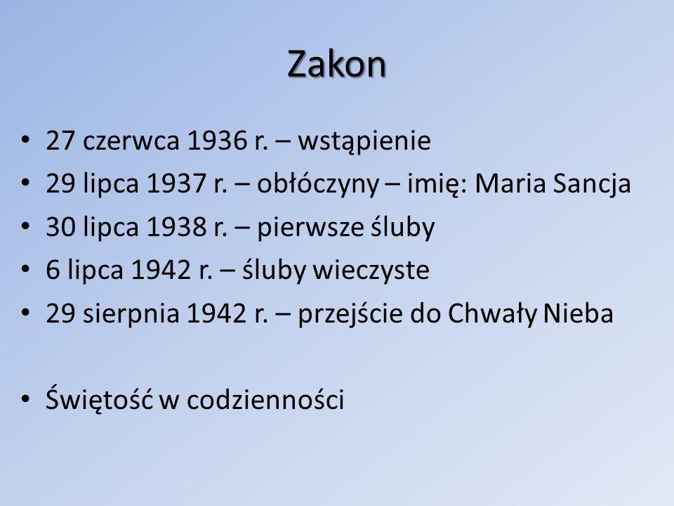 Zakon 27 czerwca 1936 r.– wstąpienie 29 lipca 1937 r.