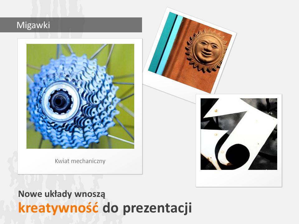 Nowe układy wnoszą kreatywność do prezentacji Kwiat mechaniczny Migawki