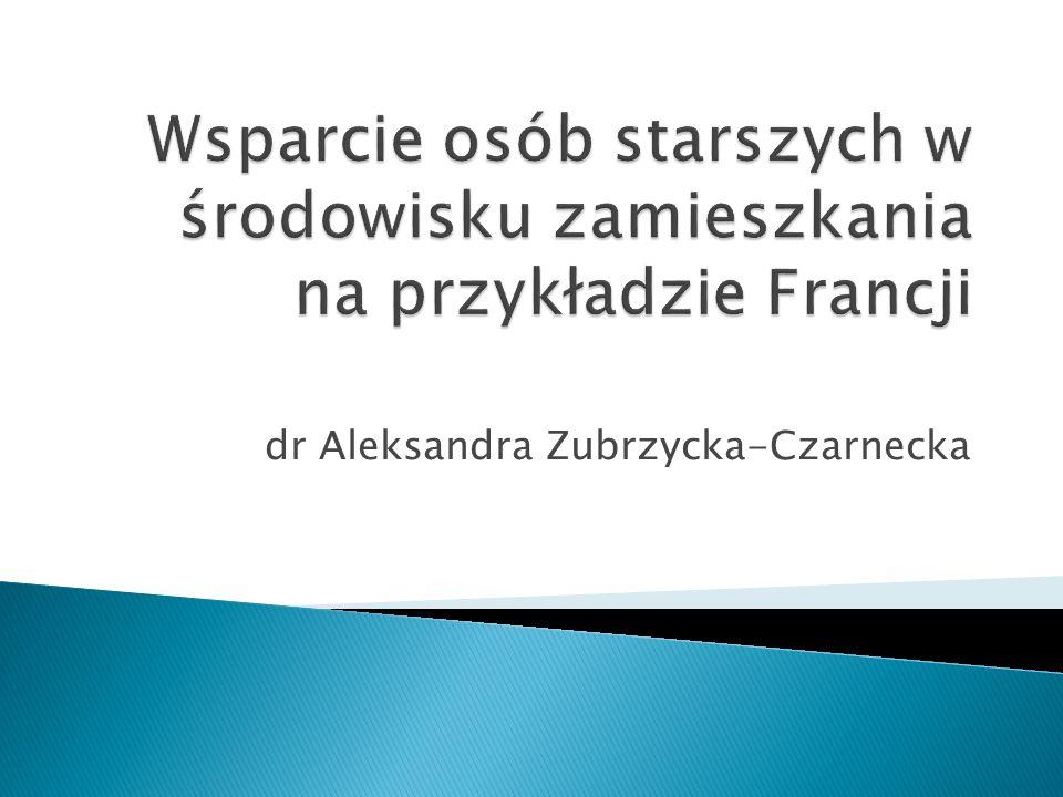 dr Aleksandra Zubrzycka-Czarnecka