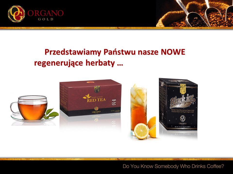 Przedstawiamy Państwu nasze NOWE regenerujące herbaty … Przedstawiamy Państwu nasze NOWE regenerujące herbaty …