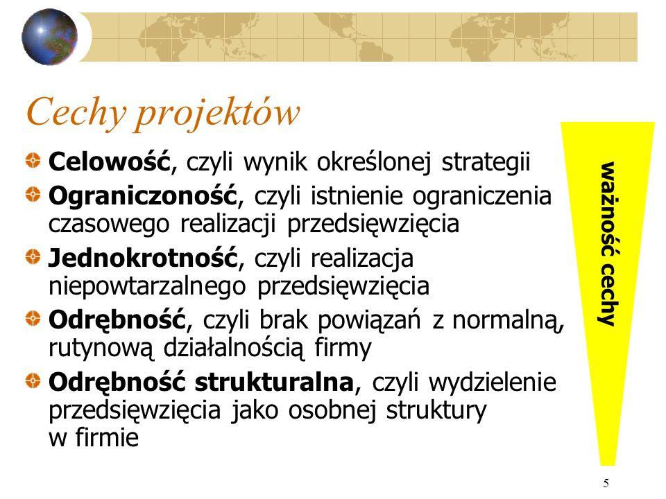 36 Struktura organizacyjna projektu NadzórWsparcie