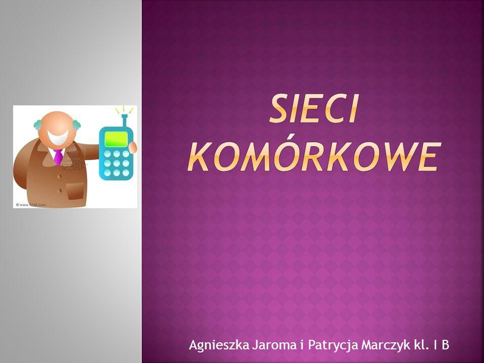 Agnieszka Jaroma i Patrycja Marczyk kl. I B