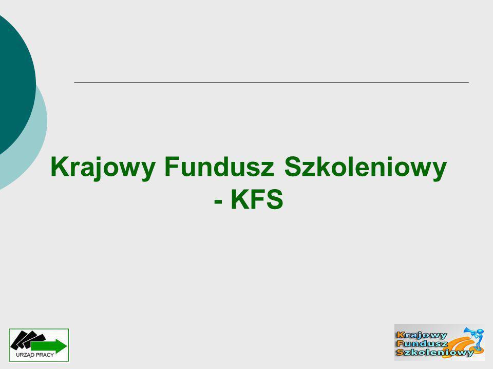 Krajowy Fundusz Szkoleniowy - KFS