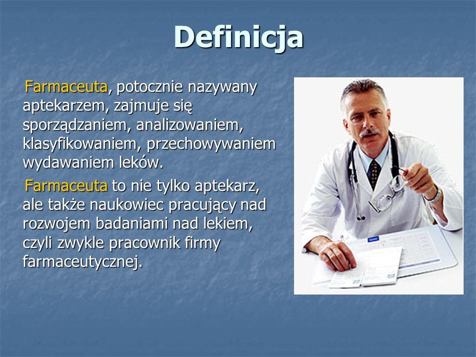 Bibliografia www.pwn.pl www.pwn.pl www.medycyna.serwis.pl www.medycyna.serwis.pl www.farmacja.pl www.farmacja.pl www.wikipedia.pl www.wikipedia.pl Doświadczenia własne… Doświadczenia własne…