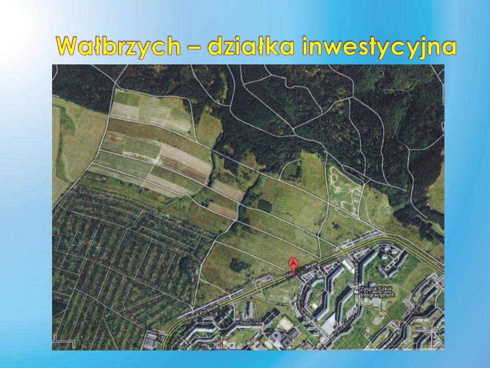  Przedmiotem oferty jest teren inwestycyjny położony w Wałbrzychu (woj.