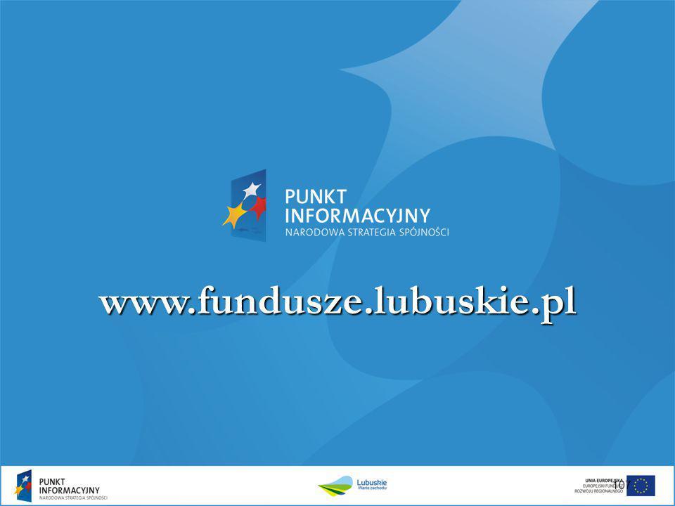 107 www.fundusze.lubuskie.pl