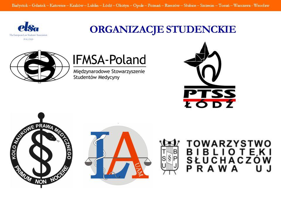 Białystok – Gdańsk – Katowice – Kraków – Lublin – Łódź – Olsztyn – Opole – Poznań – Rzeszów – Słubice – Szczecin – Toruń – Warszawa - Wrocław ORGANIZA