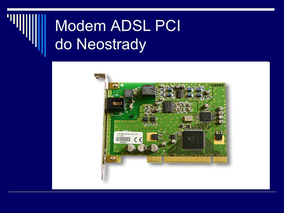 Modem ADSL PCI do Neostrady