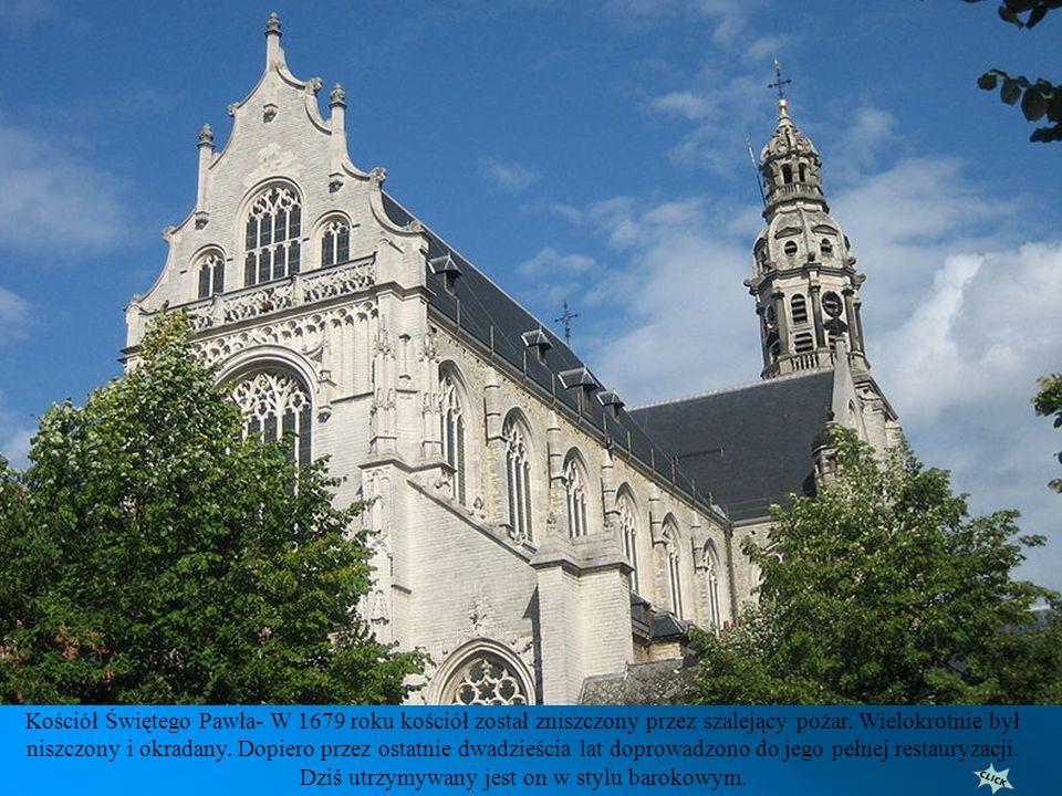 Kościół Świętego Pawła- zbudowany w 1571 r przez zakonników z bractwa Dominikanów. Został tak nazwany na cześć ich głównego patrona świętego Pawła.