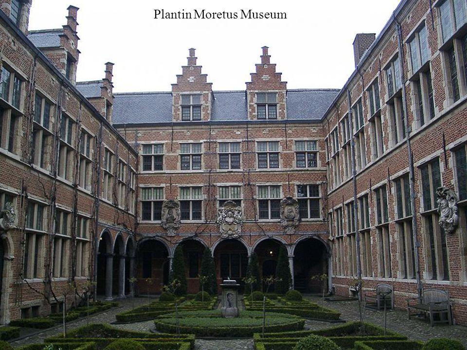 Muzeum Drukarstwa - Plantin Moretus Museum