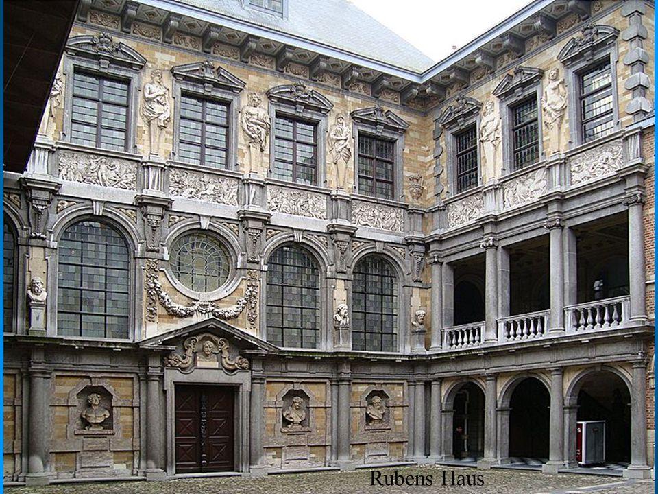 Rubens Haus Dom w którym mieszkał Rubens, dziś muzeum