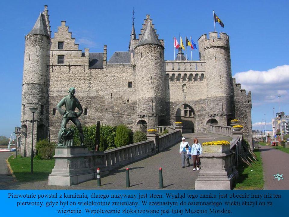 Het Steen - średniowieczny zamek, wybudowany w latach 1200 - 1225, jest najstarszym budynkiem w mieście.