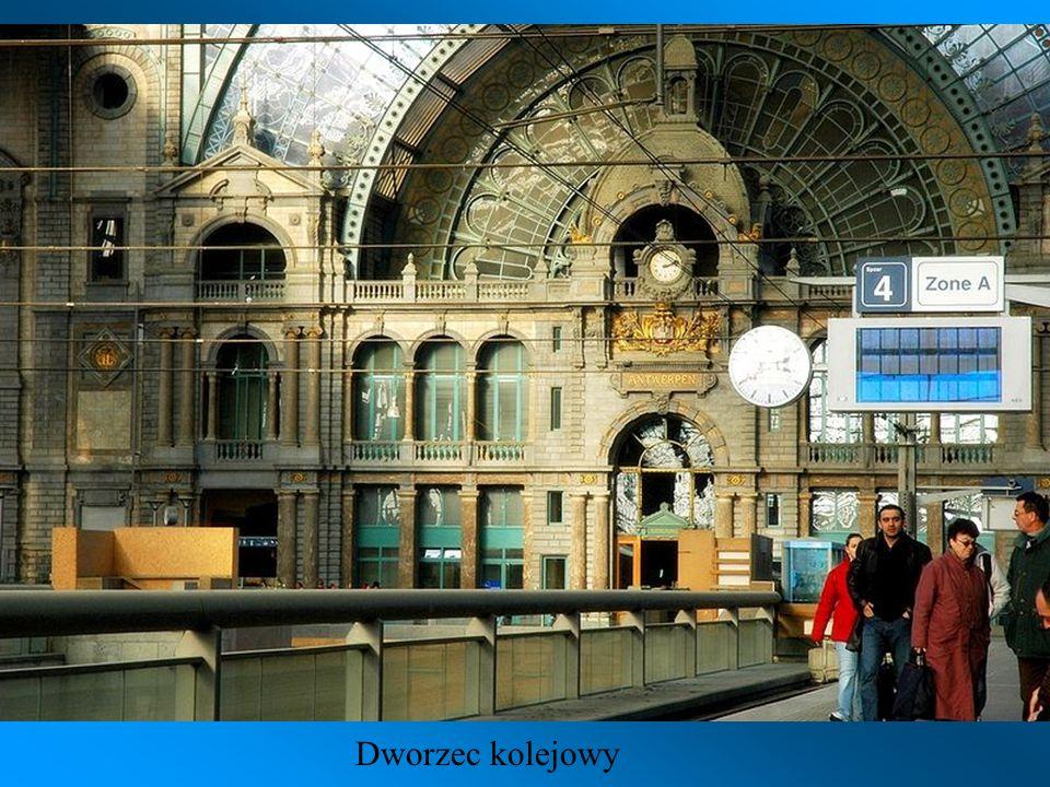 Antwerpia Centralna – dworzec kolejowy zbudowany w 1905 roku. Ze względu na spektakularną architekturę dworzec bywa nazywany Kolejową Katedrą