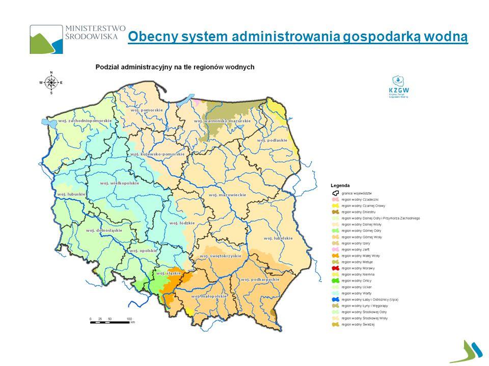 16 wprowadzenie podziału wód publicznych będących własnością Skarbu państwa na: tzw.
