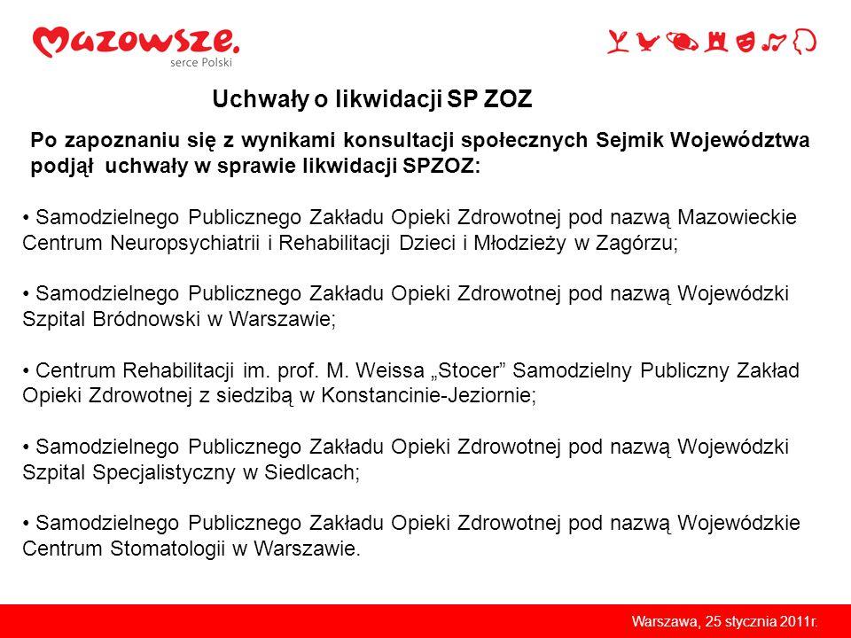 Warszawa, 25 stycznia 2011r.