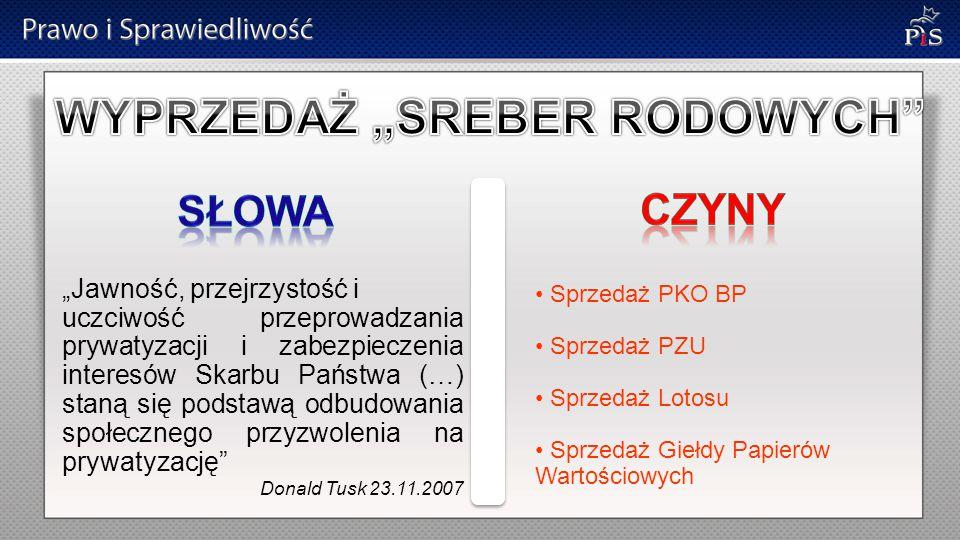 """""""Będziemy szukać rozwiązań zabezpieczających interesy gospodarcze Polski w kwestiach energetycznych Donald Tusk 23.11.2007 Umowa gazowa z Rosją październik 2010"""